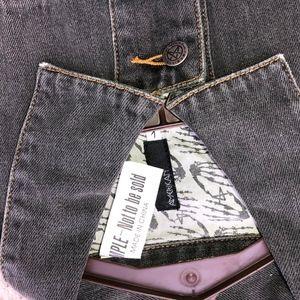 amerikan Jackets & Coats - AMERIKAN denim jacket w/faux leather cuff/NWT